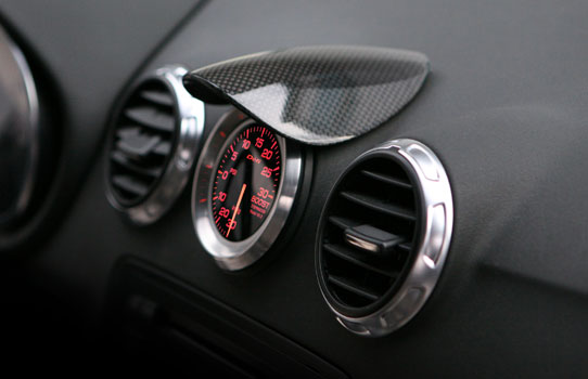 202616 - TID Carbon Fibre Gauge Cover